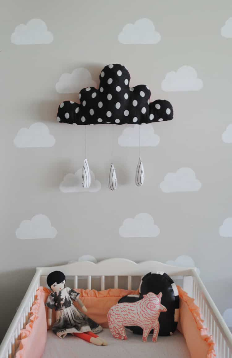 pared dormitorio infantil