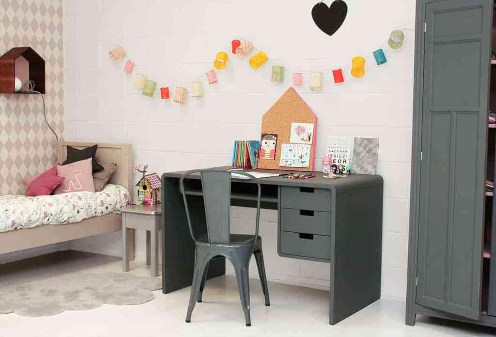 zona de estudio dormitorio infantil