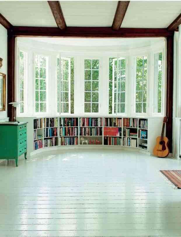 decoración con libros