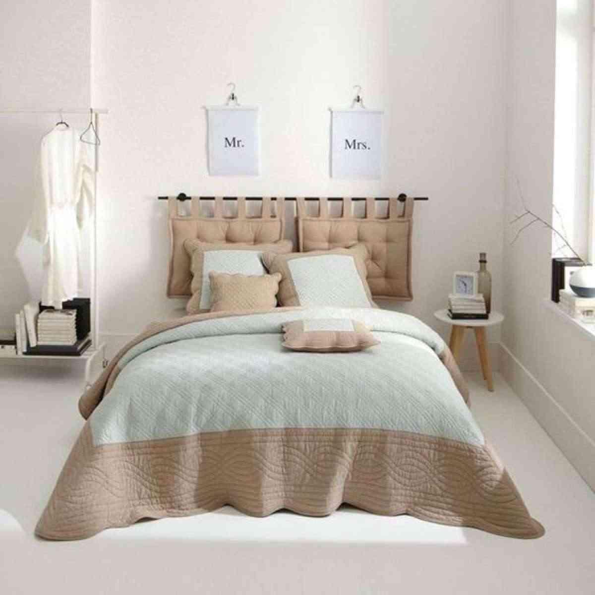 C mo hacer un cabecero de cojines en una tarde - Decorar cama con cojines ...