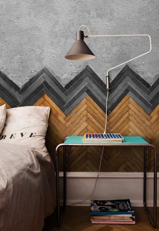 decorar con chevron