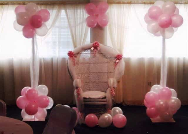 decoración baby shower