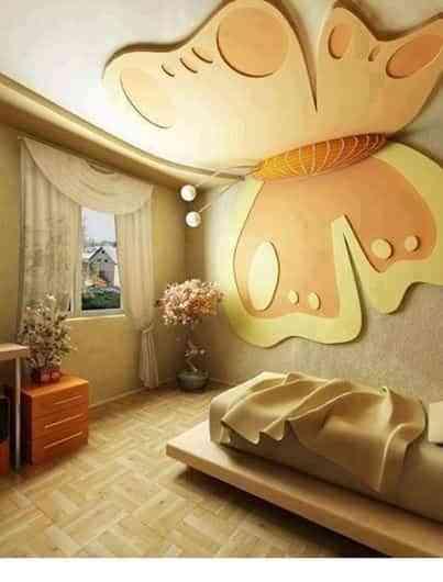 Ideas para dormitorios infantiles con mariposas - Decoracion de interiores infantil ...