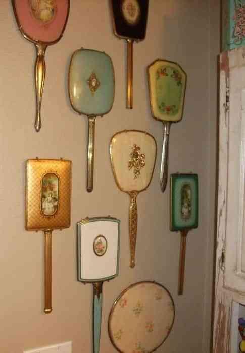 decorar paredes con espejos