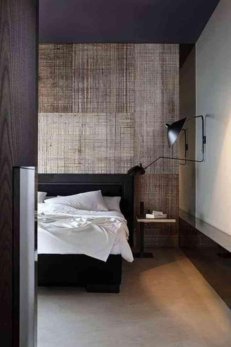 Decorar dormitorios r stico modernos masculinos for Departamentos decorados para hombres
