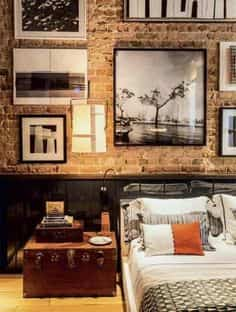 Decorar dormitorios rstico modernos masculinos Decoracin de