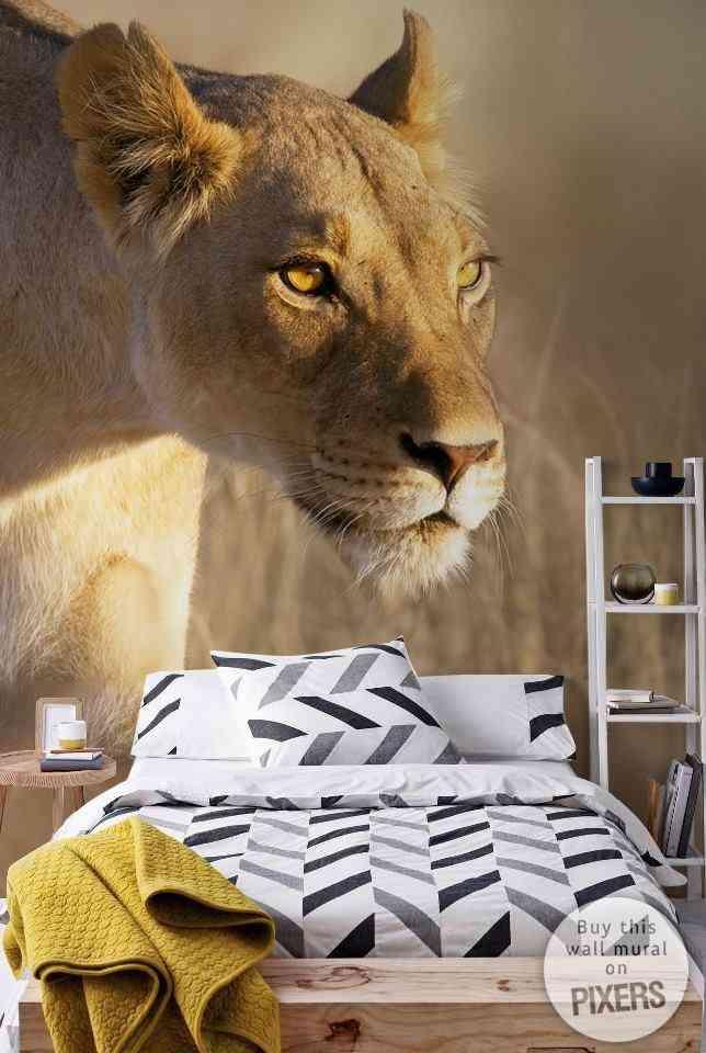 Decorar el dormitorio con un mural 3d decoraci n de for Como pintar un mural en la pared