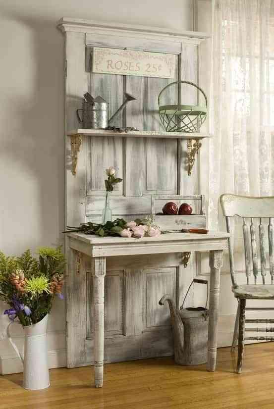 Puertas recicladas que decoran el hogar decoraci n de for Cocinas recicladas