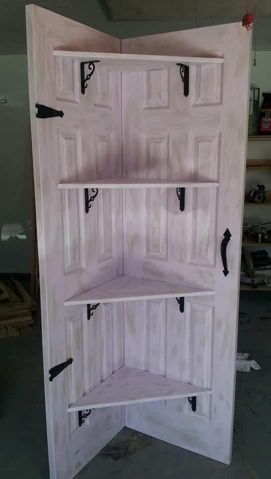 Puertas recicladas que decoran el hogar decoraci n de for Puertas para el hogar