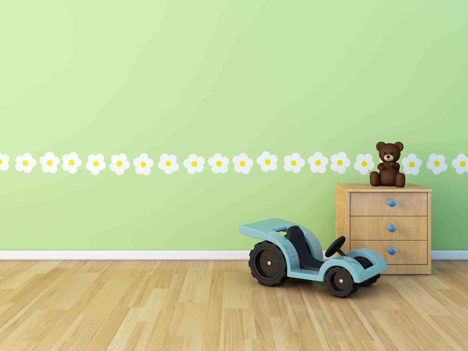 El empleo del color en las habitaciones infantiles