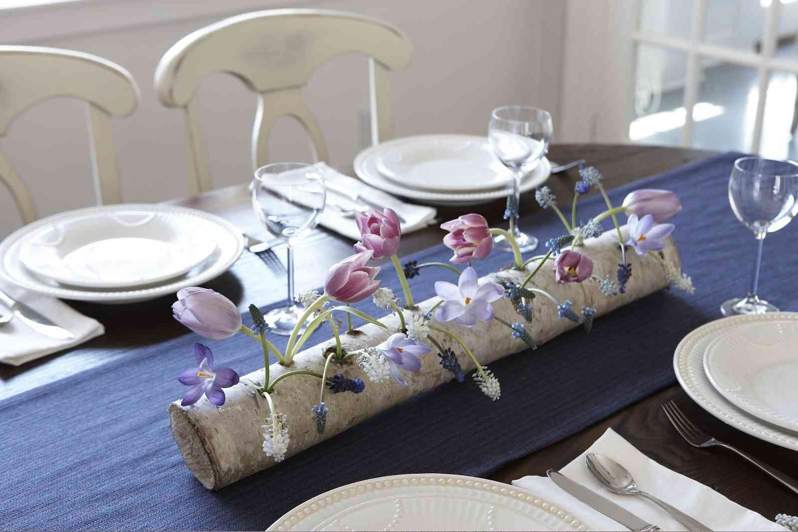 Idea para centro de mesa r stico - Centro de mesa rustico ...
