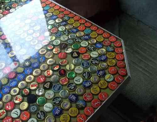 chapas de cerveza