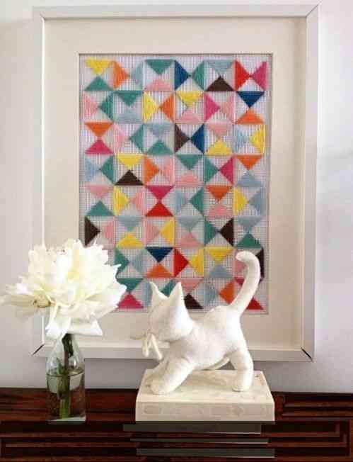 Un cuadro para decorar la pared decoraci n de interiores - La casa del cuadro ...