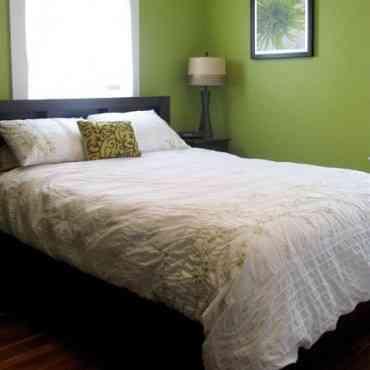 Decoración de dormitorio masculino minimalista