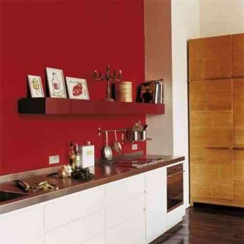 Decorar paredes de color rojo Decoracin de Interiores Opendeco
