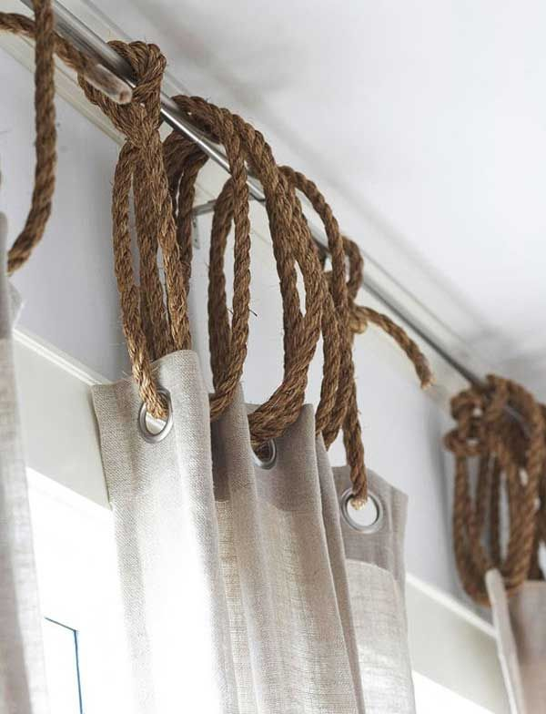 Ideas para colgar cortinas con estilo decoracion - Cortinas con estilo ...