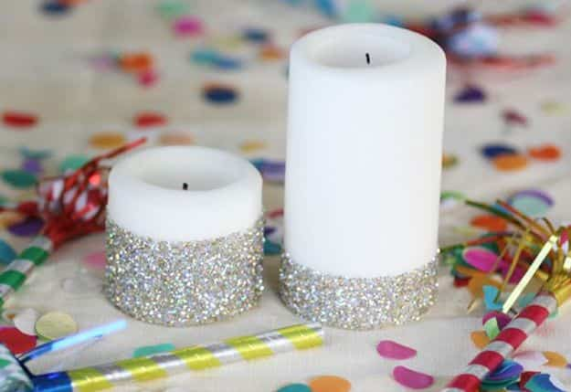 Decorar velas con brillantina decoraci n de interiores opendeco - Decorar con velas ...