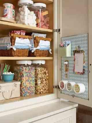 C mo ordenar los armarios de la cocina for Ordenar armarios cocina