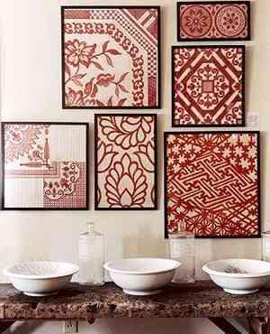 Ideas para decorar con telas