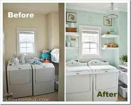 renovar zona de lavado