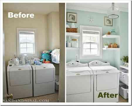 Idea para renovar la zona de lavado