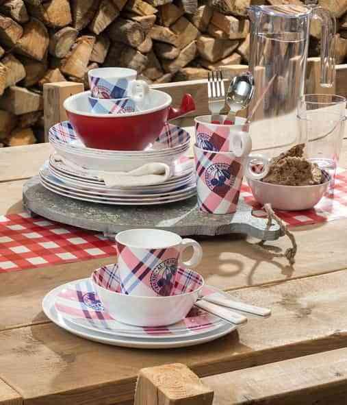 Rosti Mepal dinnerware flow picnic