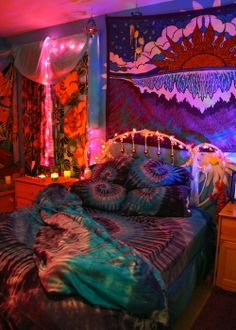 Decoraci n hippie en tu dormitorio for Cuartos hippies