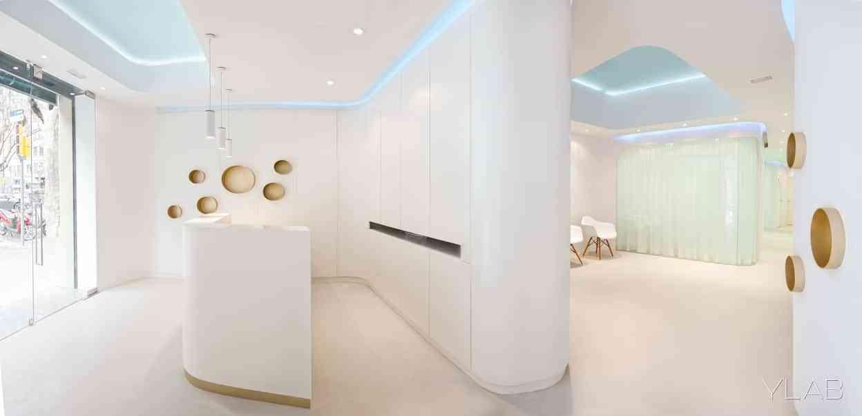 Diseño Interior Clinica Dental Barcelona YLAB arquitectos