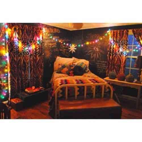 Decoraci n hippie en tu dormitorio - Decoracion hippie habitacion ...