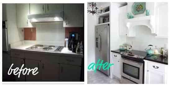 Cocina anticuada ideas para renovar - Renovar muebles de cocina ...