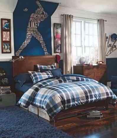 Dormitorios juveniles para chicos decoraci n de - Cuadros juveniles chico ...