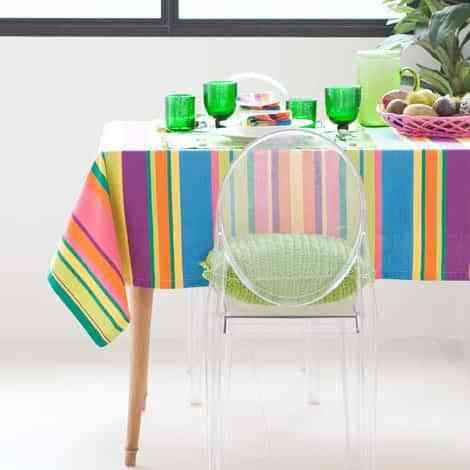 mesa con mantel zara home