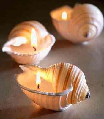 sujetar las velas