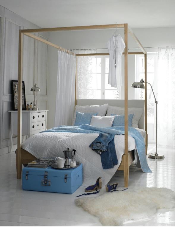 Camas de dise o para la decoraci n de habitaciones - Cama con dosel ...