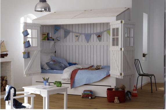 casa cama infantil
