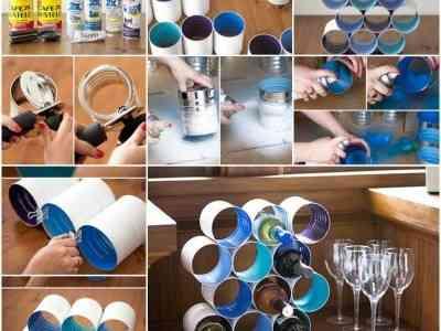 DIY: Cómo hacer un botellero de latas