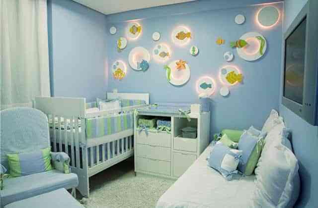 Decorar una habitación de bebé con mucho estilo