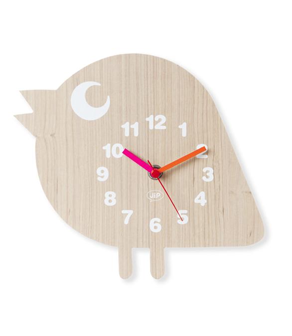 decoracion infantil - reloj pajaro