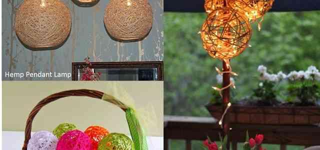 3 Ideas para decorar con hilos de colores