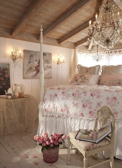 Decoraci n de interiores al estilo shabby chic for Pinterest decoracion de interiores