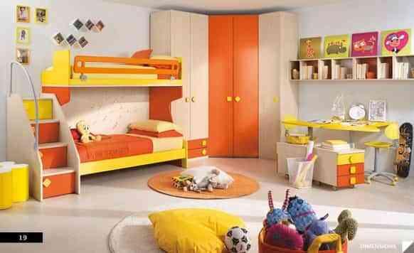 habitacion infantil literas