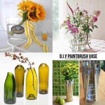4 Ideas para hacer jarrones decorativos
