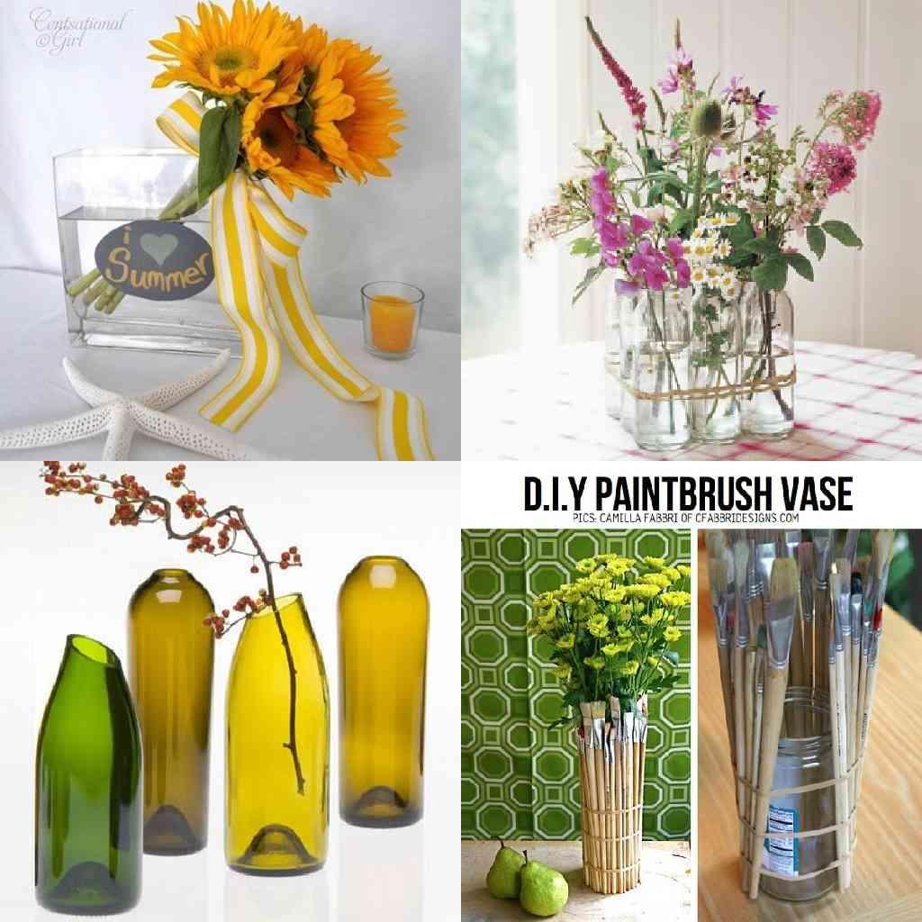 4 ideas para hacer jarrones decorativos for Jarrones decorativos para jardin