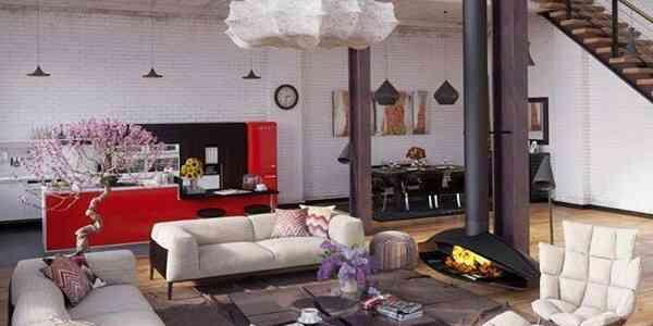 Decoración de un loft ¡viva los espacios abiertos!