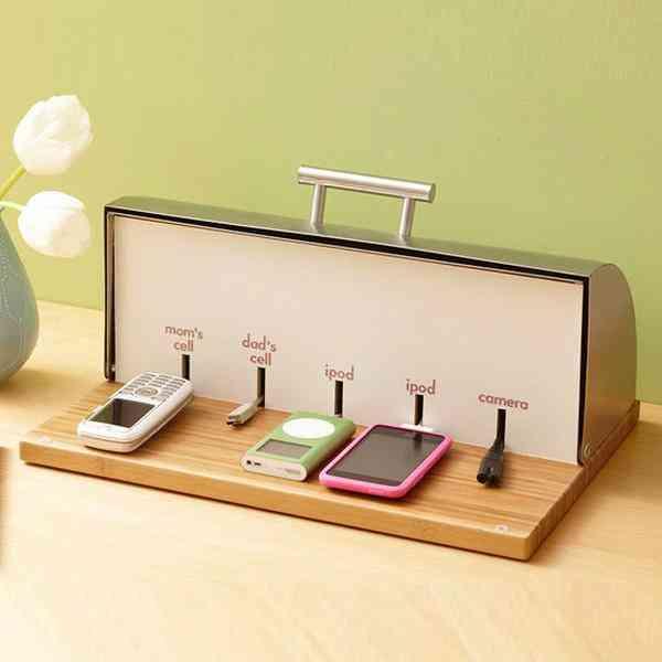 Ideas para organizar los cables de tu hogar