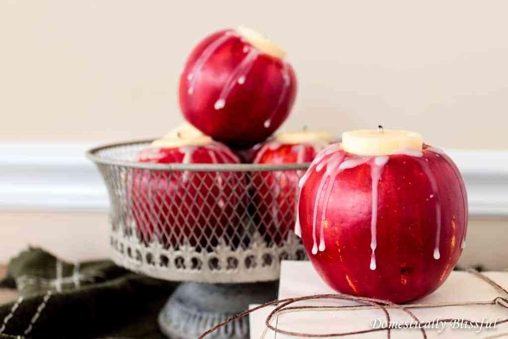 DIY con manzanas