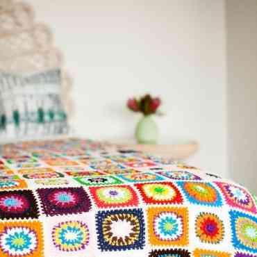 Cómo hacer una manta de crochet