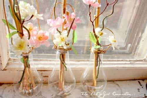 decorar con bombillas
