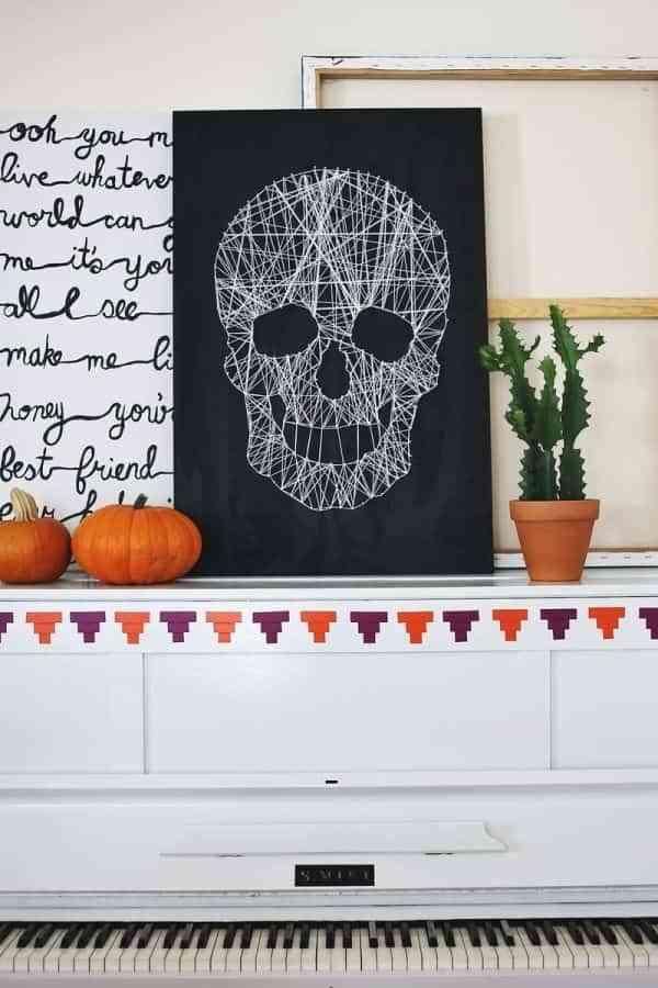 decorar con hilos