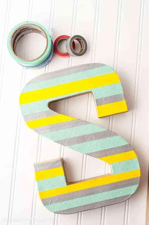 decorar con letras